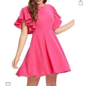 🎀 Pretty in pink Dress from Amazon Fashion 🎀